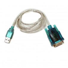 Конвертер USB А - RS 232 (9 pin)  (Aopen) вилка - вилка