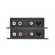 Удлинитель проводной Audio сигнала до 600м. по UTP DS-56100 VPR2-0
