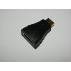 Переходник HDMI - mini HDMI гнездо - вилка