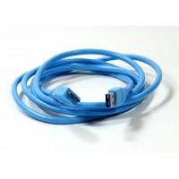 Кабель  USB 3.0 А - micro USB B вилка - вилка